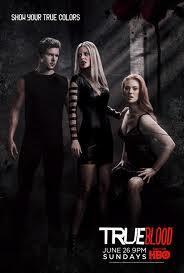 HBO's True Blood Black Promo Poster