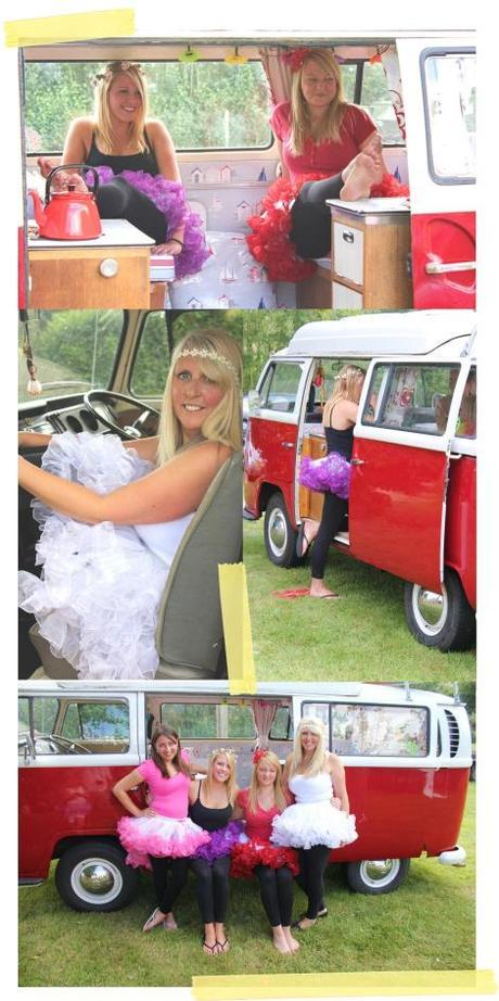 festival fairies hen party campervan tutu pettiskirt ruffle petticoat dress costume fancy
