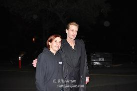 Alexander Skarsgard on the set of True Blood Season 6!