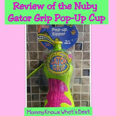 Another Awesome Cup for Kids: Nuby Gator Grip™ Pop-up™ Sipper
