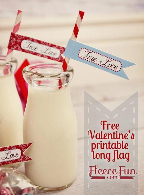 valentines long flag feature