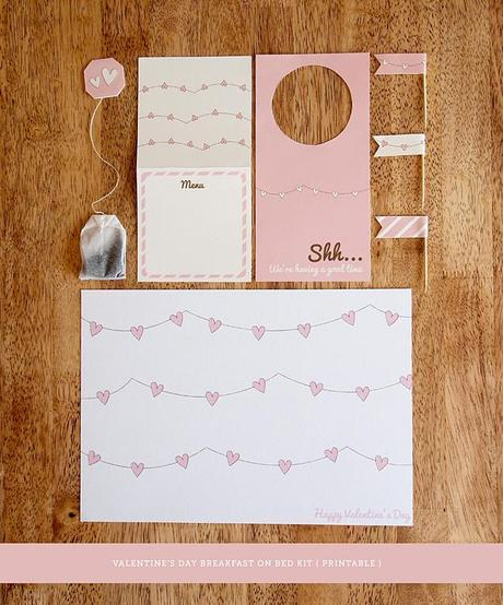 Valentines Day Printable Breakfast Kit by Design is Yay!