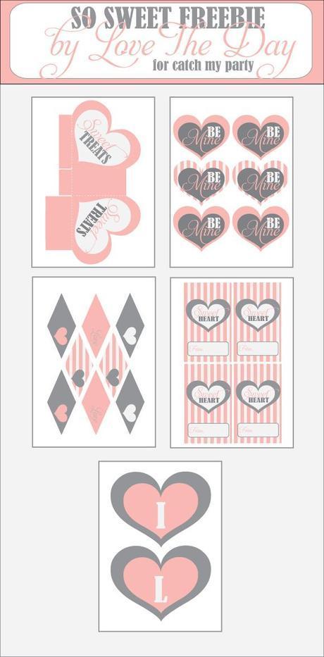 Free Printable Friday:  Be Mine Valentine