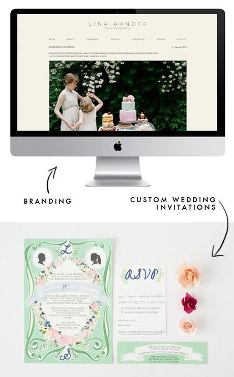 Branding and custom illustrations