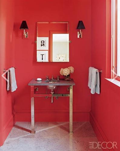 Unapologetically Red and Romantic!