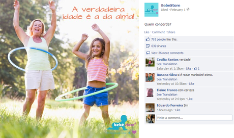 Brazilian E-commerce: Optimize Your Facebook Posts Like Bebê Store