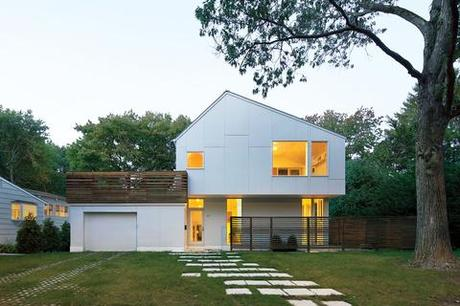 Best houses in new england paperblog for Modern new england homes