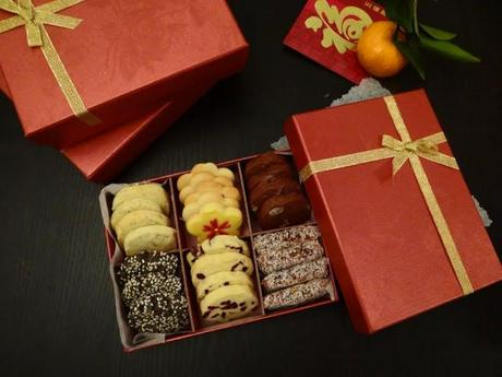 Chinese New Year Assorted Cookie Boxes