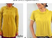 Refashioning Shirts...