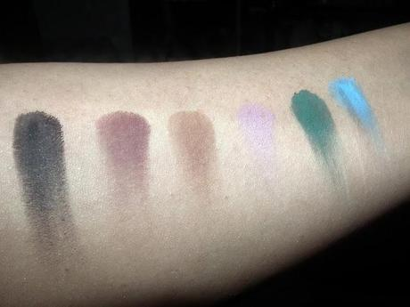 Sephora Blockbustre Palette Swatches