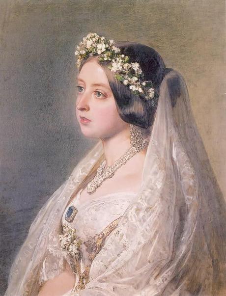 Queen Victoria S Wedding Dress Paperblog