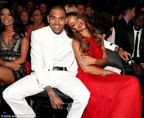 Rihanna x Chris Brown at the Grammy's