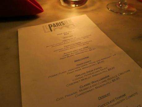 EAT: Le Parisien – French Bistro in Vancouver, BC