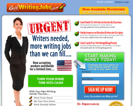 scientific writing jobs
