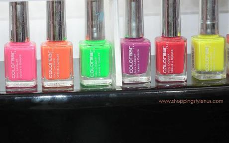 A nail paints collection based on drinks!!