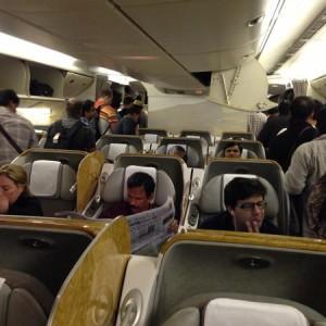 emirates business class india