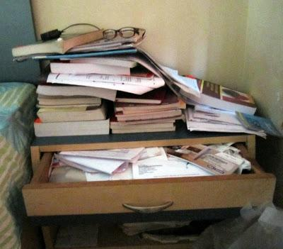 I'm on a de-cluttering spree!