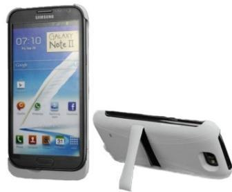 Backup Battery Case for Samsung Galaxy Note 2 N7100 - 4000mAh - White