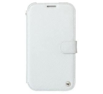 Zenus Prestige Mimimal Diary Leather Case for Samsung Galaxy Note 2 N7100 - White