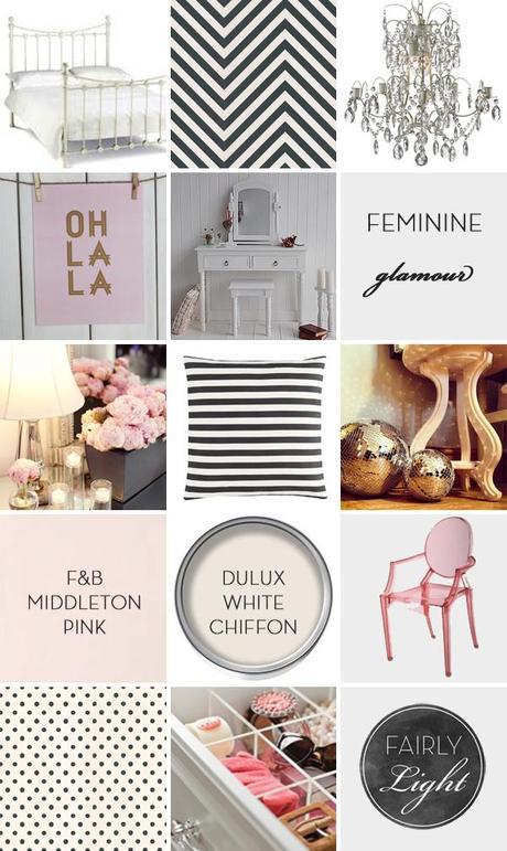 Feminine glamour
