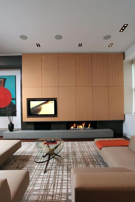Fireplace or a TV? Or, better both together