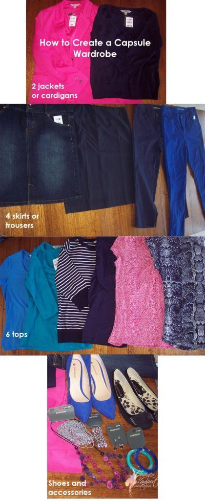 How to Create a Capsule Wardrobe on a Budget – Emerson, Big W