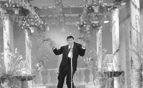 Celentano a Sanremo nel 1961.