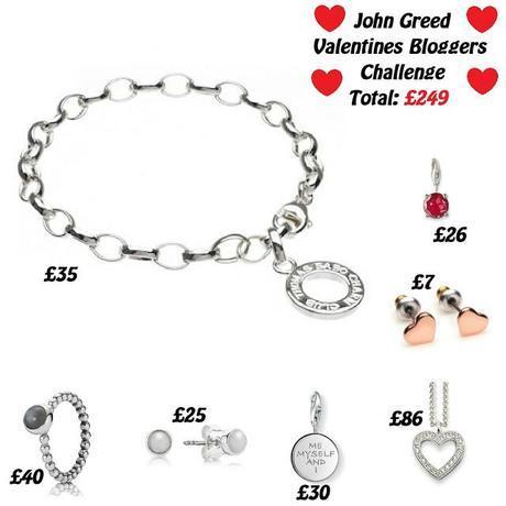 John Greed Jewellery's Valentine's Day Blogger Challenge