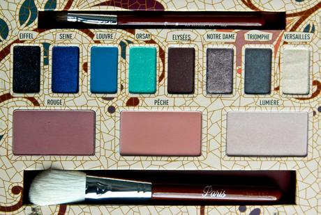 Sigma Paris Palette First Impression/Review, Photos & Swatches