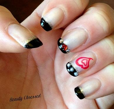 ABC Nail Challenge: Letter F