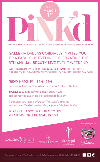 Win Tickets to Pink'd with Pat & Emmitt Smith