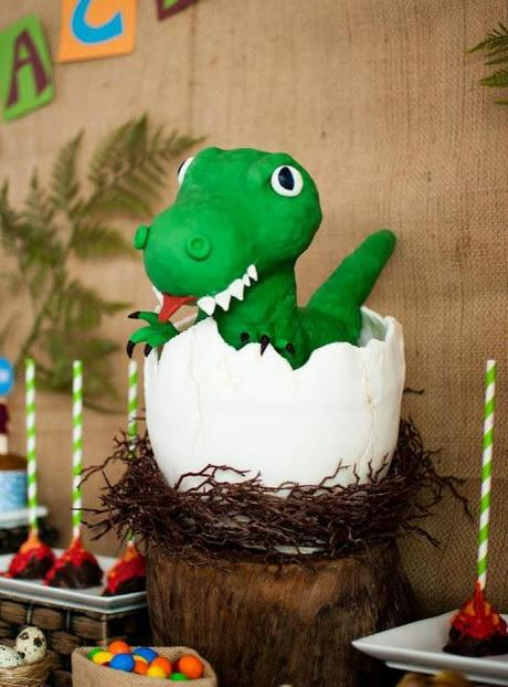 A Super Cute Dinosaur Themed Birthday Quot Zachysaurus Quot By It