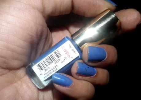L'Oreal Color Riche Nail Paint in 610 Rebel Blue