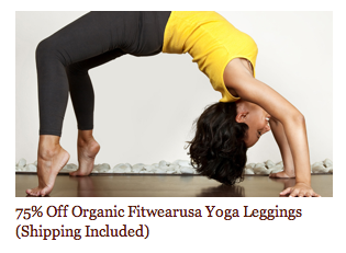 Daily Deal: Minted FREE Recipient Address Printing on Birth Announcements, Sale on Coyuchi Organic Baby Clothing, and (2) Pairs Organic Fitwearusa Yoga Leggings $29 Shipped!
