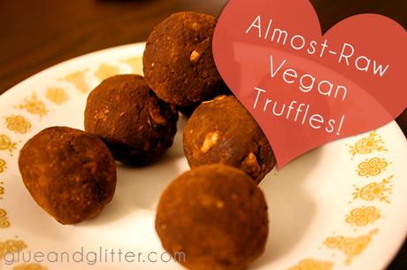 Valentines Day Vegan Truffles