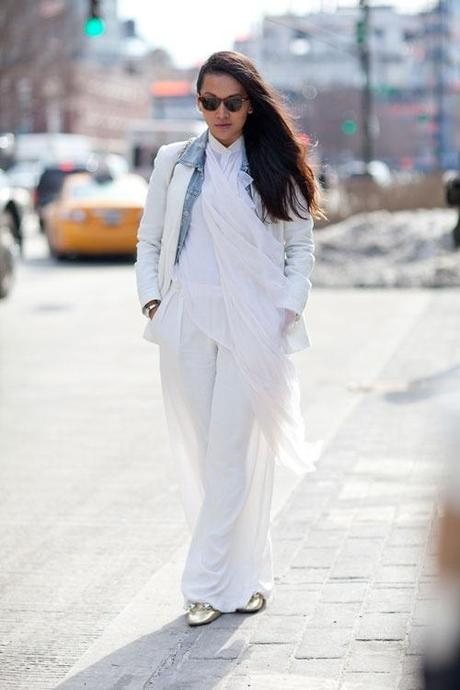 Street Style during NY Fashion Week