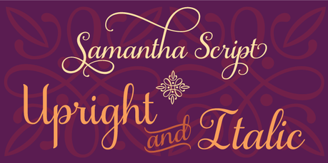 Calligraphy fonts by Laura Worthington, Samantha Script font, calligraphy font, cursive font, script font, wedding font, hand lettered font, best selling font, Most Popular fonts of 2012, top selling font, fonts for invitations, fonts for weddings