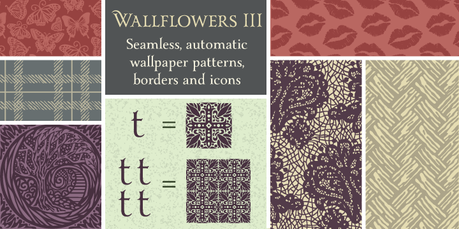 Wallpaper patters by Laura Worthington, pretty wallpaper pattern fonts, Calligraphy fonts by Laura Worthington,Wallflowers 3 font, font ornaments, decorative font patterns, wallpaper font patterns,calligraphy fonts, cursive fonts, script fonts, wedding fonts, hand lettered fonts, best selling fonts, Most Popular fonts of 2012, top selling fonts, fonts for invitations, fonts for weddings