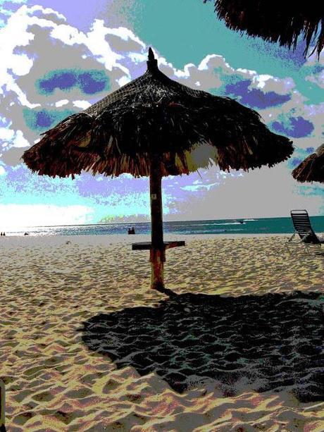 Abstract Aruba Sunsets [Sky Watch Friday]