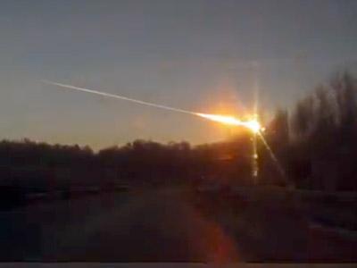 Meteorite Hits Russian Urals: Fireball Explosion Wreaks Havoc