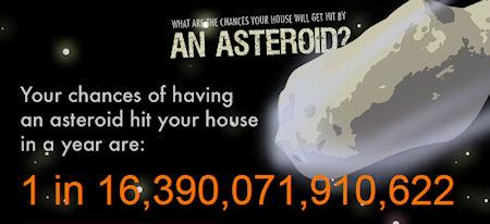 What Are The Odds Your House Will Be Destroyed By An Asteroid?