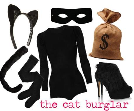 halloween diy cat burglar costume