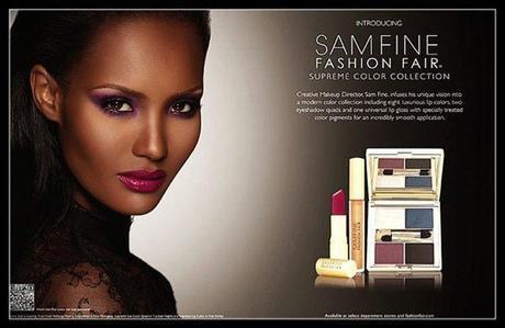 SamFineforFashionFair Sam Fine for Fashion Fair Ad Revealed