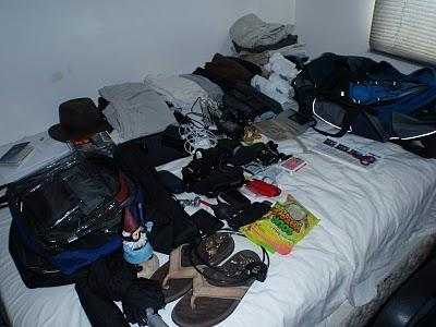 A Hot Mess of a Packing List