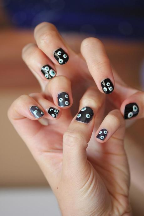 Halloween Inspired Nails - Paperblog