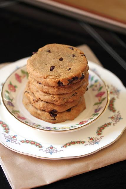 Peanut Butter Chocolate Cookies with a Protein Kick