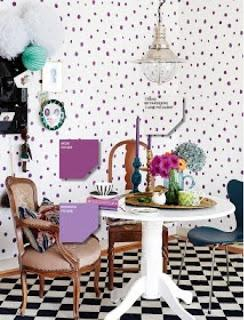 Polka dot wallpaper ♥