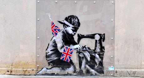 Banksy mural removed from London to Miami auction for £450,000