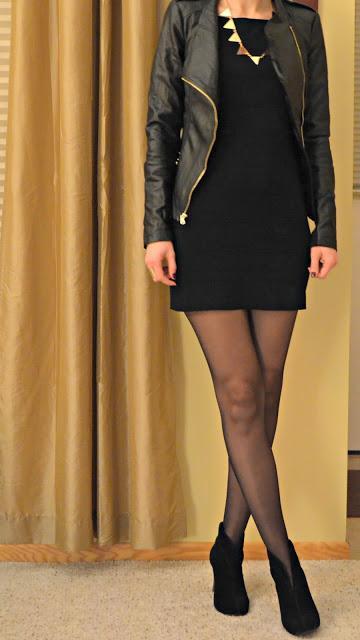 Little Black Dress Amp Leather Paperblog