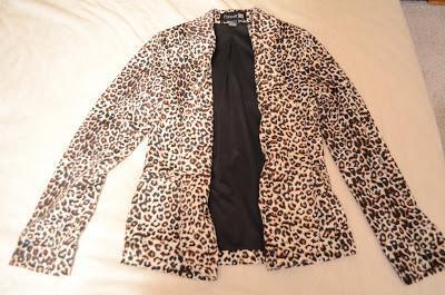 leopard jacket, forever 21